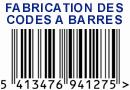 Fabrication des codes à barres