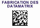 Fabrication des codes datamatrix
